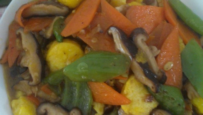 香菇日本豆腐