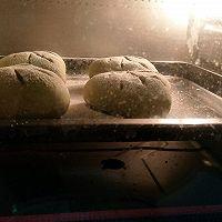 抹茶麻薯豆沙三角欧包的做法图解6