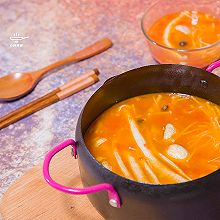 西红柿杂菇汤