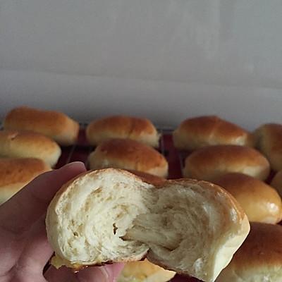 奶油面包卷(手揉版)