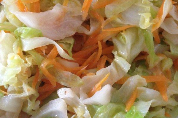 胡萝卜丝炒球菜的做法