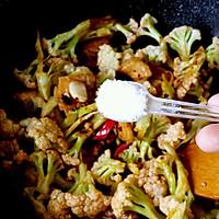干锅有机花菜的做法图解8
