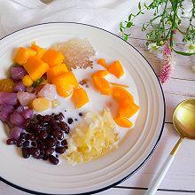 集颜值与营养于一身的芋圆,水果捞