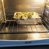 #秋天怎么吃#硬的能打人的面包,居然能做出好吃的法棍蘑菇布丁的做法图解8