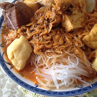 Homemade Chinese Laksa