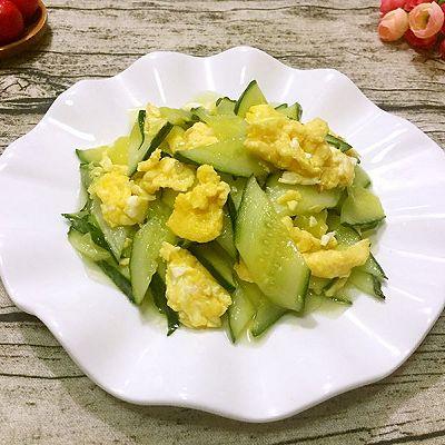 鸡蛋炒黄瓜