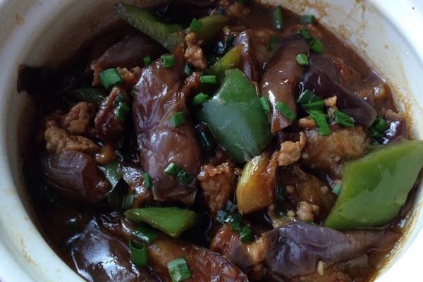 #菁选酱油试用#肉末茄子煲的做法