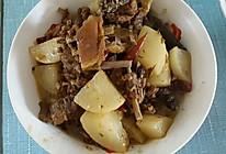 #回忆妈妈的菜#萝卜炖羊肉的做法