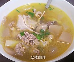 开胃的酸萝卜老鸭汤的做法