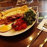 爱心鸡蛋芝士饼早餐的做法图解4