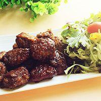 极品黑椒牛肉粒#德国miji爱心菜#的做法图解13