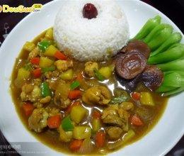 咖喱鸡肉盖浇饭——豆果美食的做法