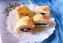 #换着花样吃早餐#酥脆芝麻豆沙卷饼的做法