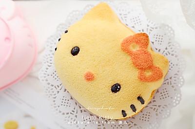 Hello Kitty异形戚风蛋糕