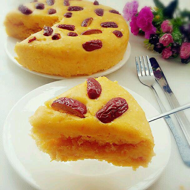 红枣南瓜发糕的做法_【图解】红枣南瓜发糕怎么做如何