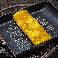 一人食,荷兰豆腊肠磷虾鸡蛋便当的做法图解5