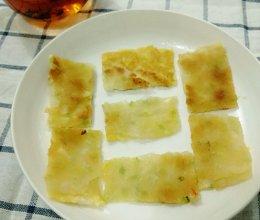 yuki牌葱油饼和鸡蛋饼的做法