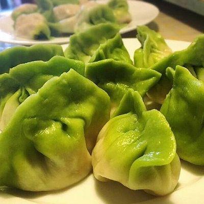 【翡翠饺子】饺子这样吃才有食欲