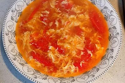 西红柿鸡蛋汤(番茄蛋汤)