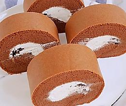 奥利奥摩卡蛋糕卷的做法