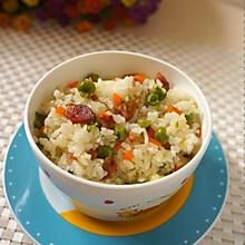 应季的懒人版豌豆饭