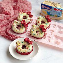 #安佳儿童创意料理#红丝绒小蛋糕
