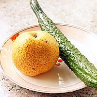 黄瓜雪梨汁的做法图解1