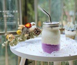 紫薯燕麦牛奶的做法