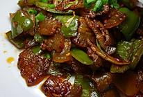 柳式青椒回锅肉的做法