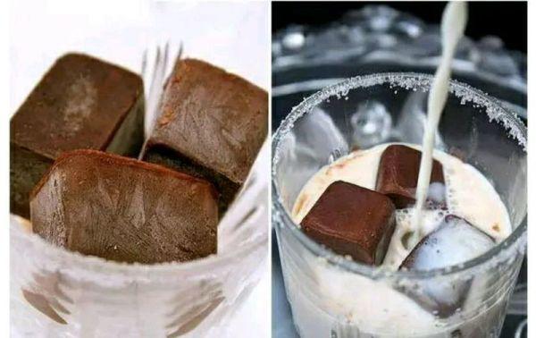 咖啡冰块奶的做法