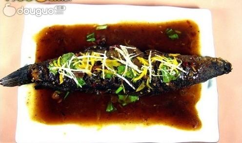豆瓣醮烧黑鱼的做法