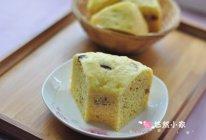 孩子的小甜点——玉米面红枣发糕#九阳烘焙剧场#的做法
