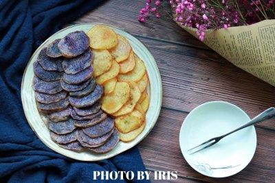 娱乐好伴侣—双色土豆片