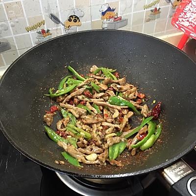 藤椒肉丝的做法 步骤4