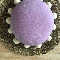紫薯玫瑰花蛋糕的做法图解12