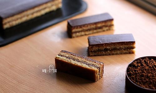 【欧培拉】法国歌剧院蛋糕的做法