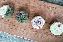 玫瑰绿豆糕的做法
