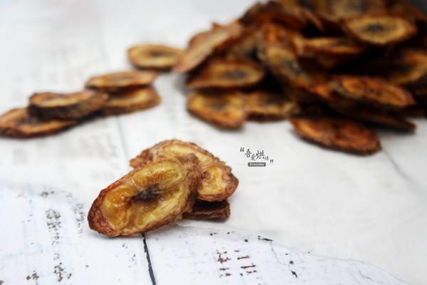 减肥人士必选零食——烤香蕉片的做法