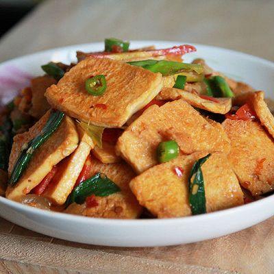 千页豆腐回锅肉-米饭杀手来了。