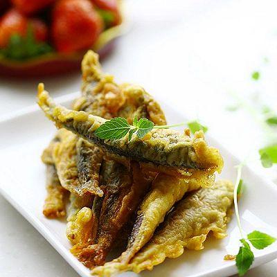 酥炸鲅鱼食