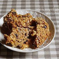 燕麦能量脆饼 #中粮我买,春季踏青#的做法图解11