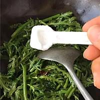 素炒茼蒿的做法图解6
