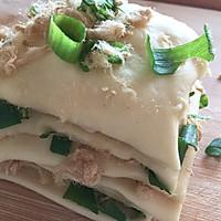 #硬核菜谱制作人#香葱肉松面包的做法图解13