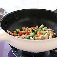 减肥食谱|酱香花菇鸡丁的做法图解6