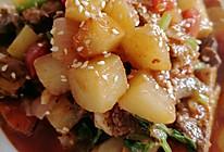 家常土豆炖牛肉的做法