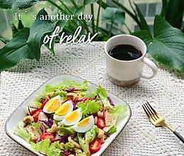 减脂轻食沙拉~的做法