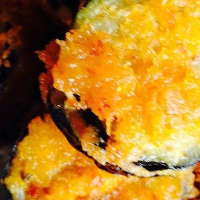 面包糠茄盒的做法 步骤7