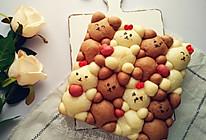 萌萌哒挤挤小熊面包的做法