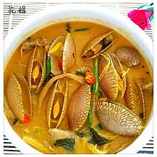 咖喱椰奶笋丝汤