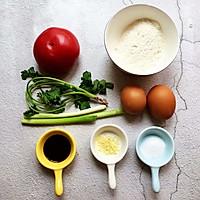 西红柿鸡蛋疙瘩汤的做法图解1